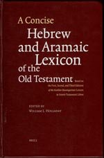 A Concise Hebrew and Aramaic Lexicon of the Old Testament (CHALOT)