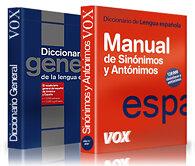 Juego de diccionarios Vox