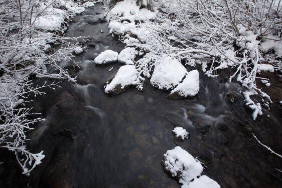 Winter Wonderland snow creek