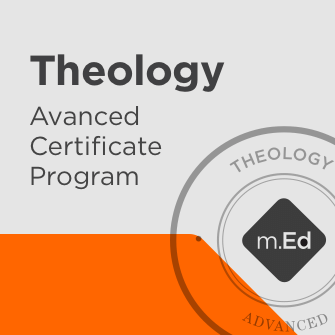 Theology: Advanced Certificate Program
