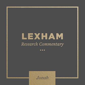 Lexham Research Commentary: Jonah