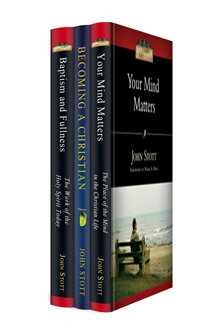 The John Stott Christian Living Collection (3 vols.)
