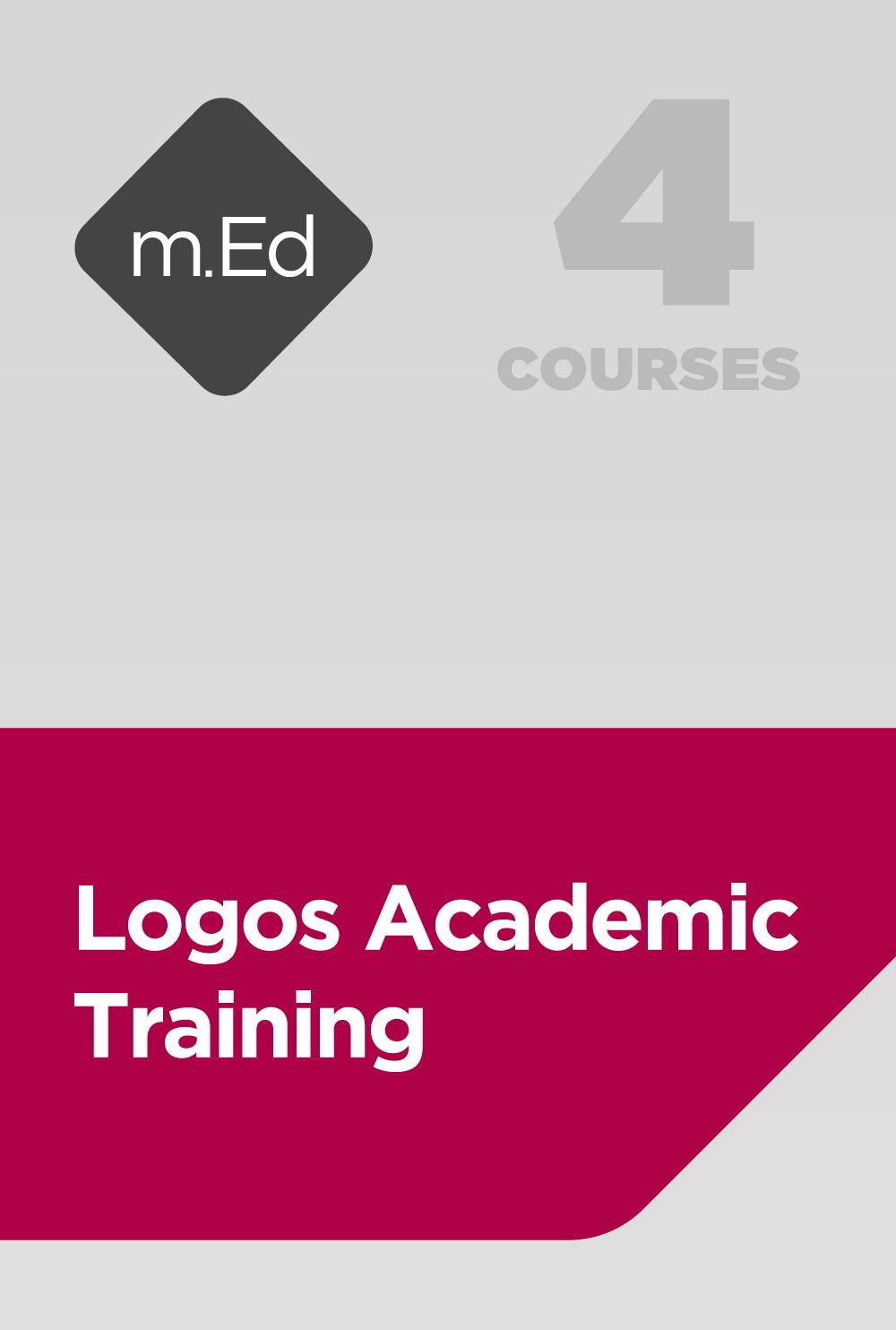 Mobile Ed: Logos Academic Training Bundle (4 courses)