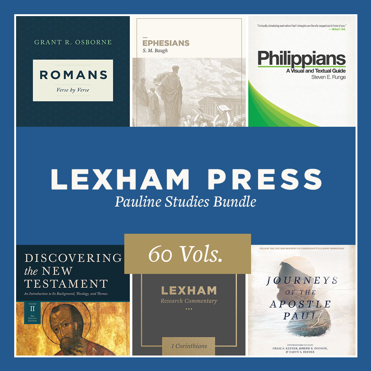 Lexham Press Pauline Studies Bundle (60 vols.)