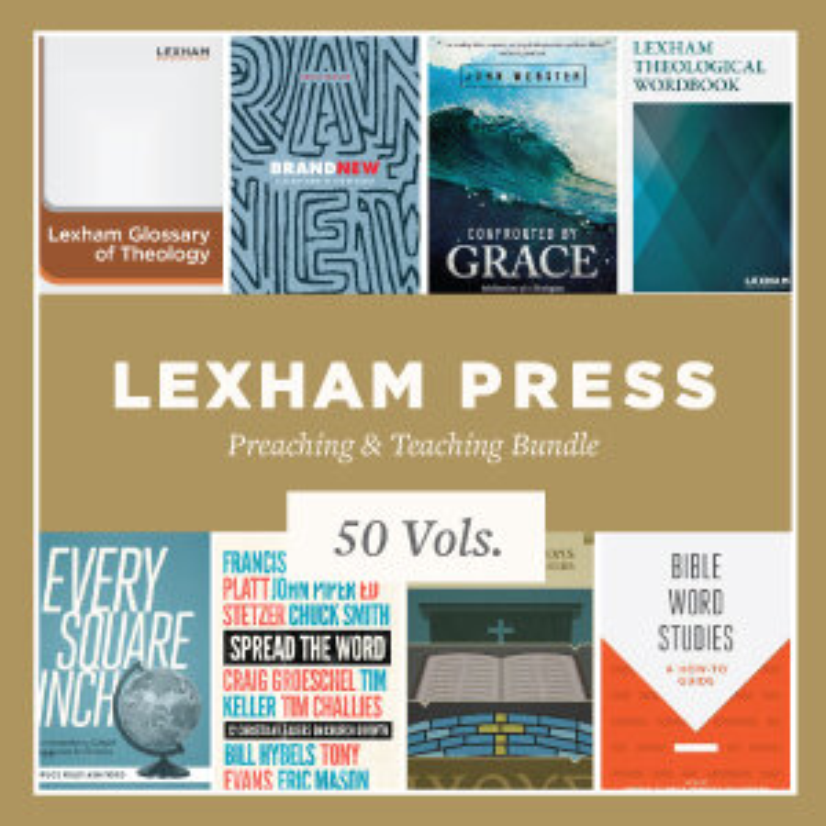 Lexham Press Preaching & Teaching Bundle (50 vols.)
