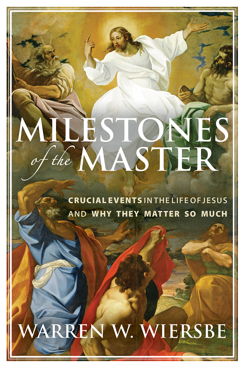 Milestones of the Master