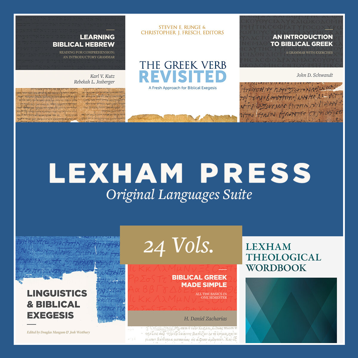 Lexham Press Original Languages Suite (24 vols.)