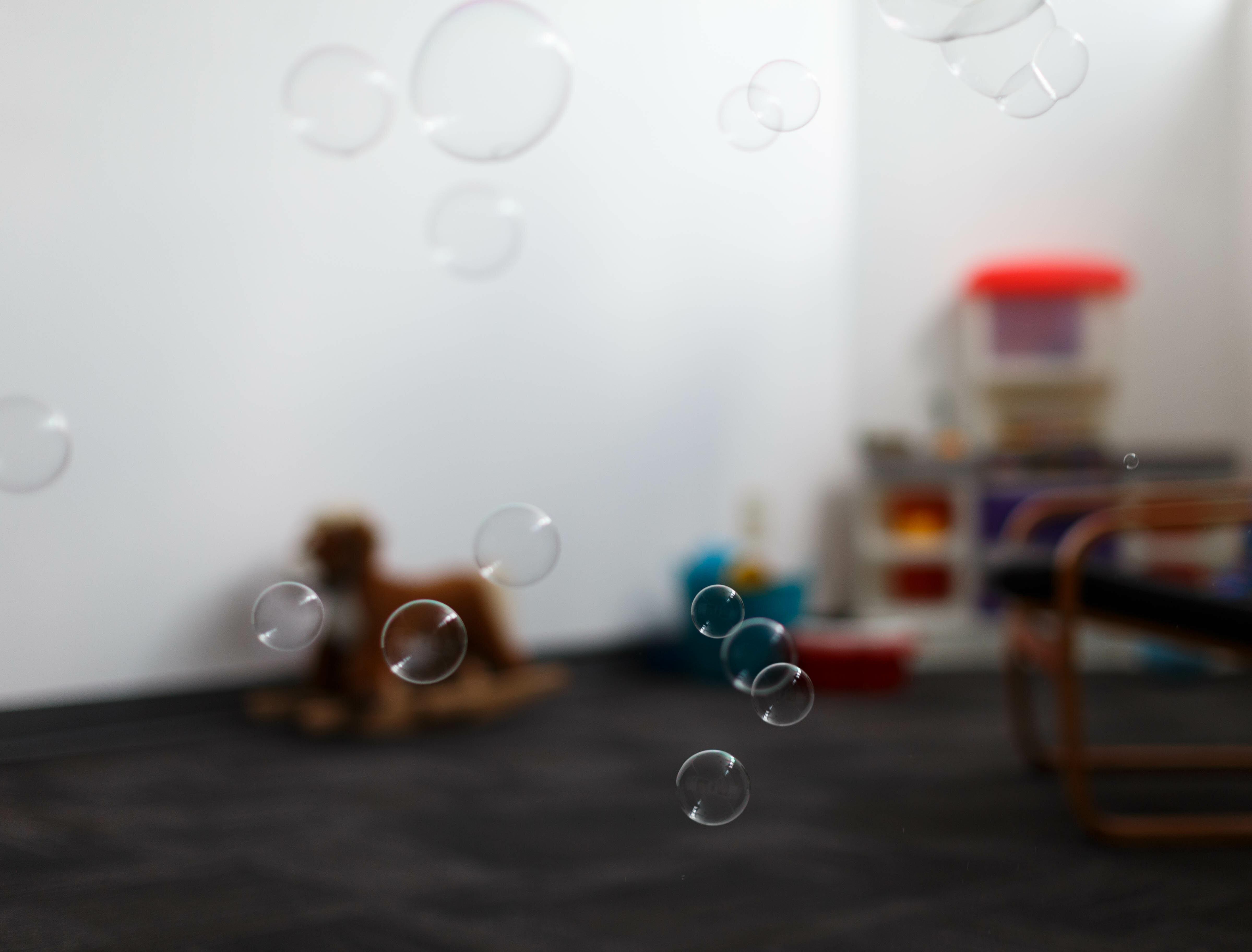 Bubbles in nursery