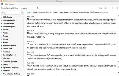 Bible Browser Tool