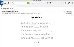 Scripture Memory Tool
