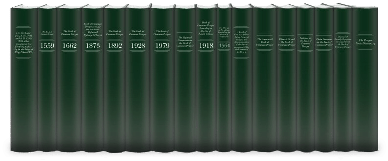 Book of Common Prayer Collection (17 vols.)