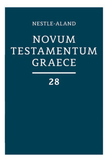 Nestle-Aland Greek New Testament, 28th Edition, with Morphology (NA28)