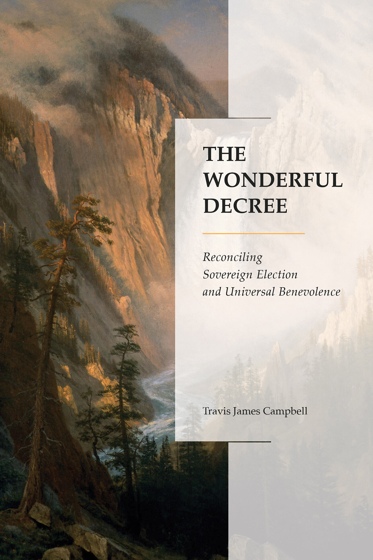 The Wonderful Decree: Reconciling Sovereign Election and Universal Benevolence