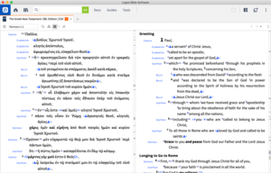 The Lexham Discourse Greek NT and Hebrew Grammar Datasets