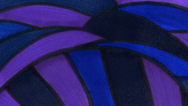 Blue Purple Painting