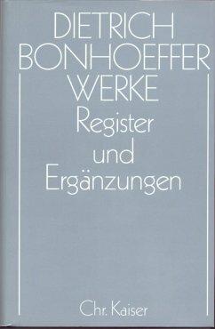 Register und Ergänzungen