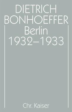 Berlin 1932–1933