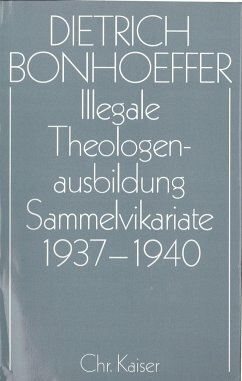 Illegale Theologenausbildung: Sammelvikariate 1937–1940