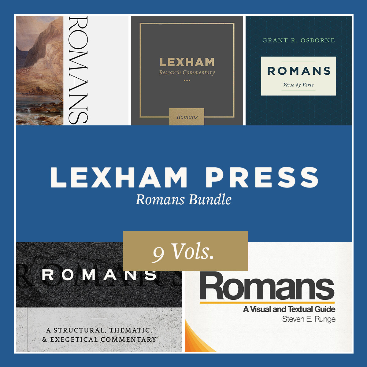 Lexham Press Romans Bundle (9 vols.)