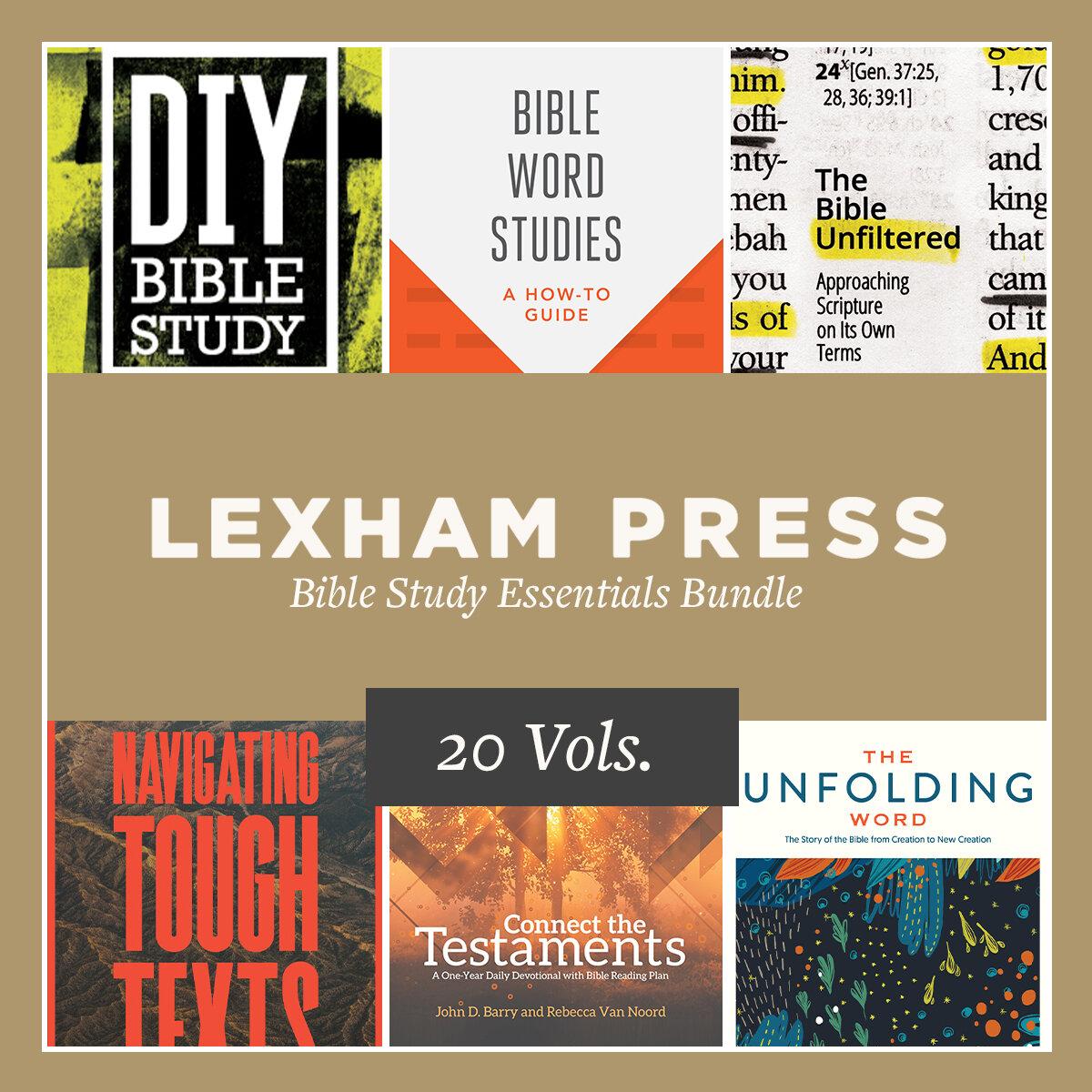 Lexham Press Bible Study Essentials Bundle (15 vols.)