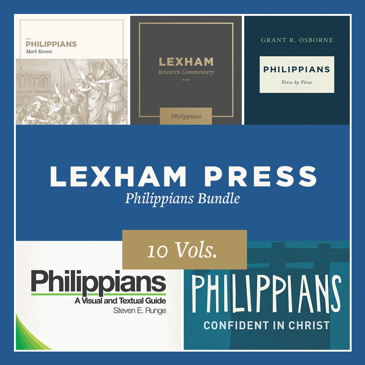 Lexham Press Philippians Bundle (10 vols.)