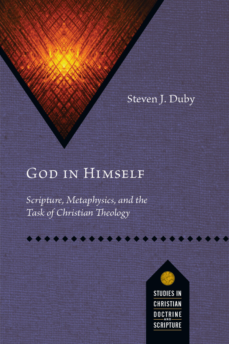 God in Himself: Scripture, Metaphysics, and the Task of Christian Theology (Studies in Christian Doctrine and Scripture)