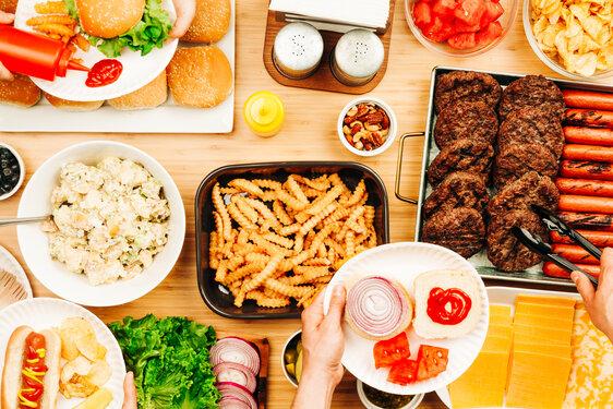 BBQ Table Spread
