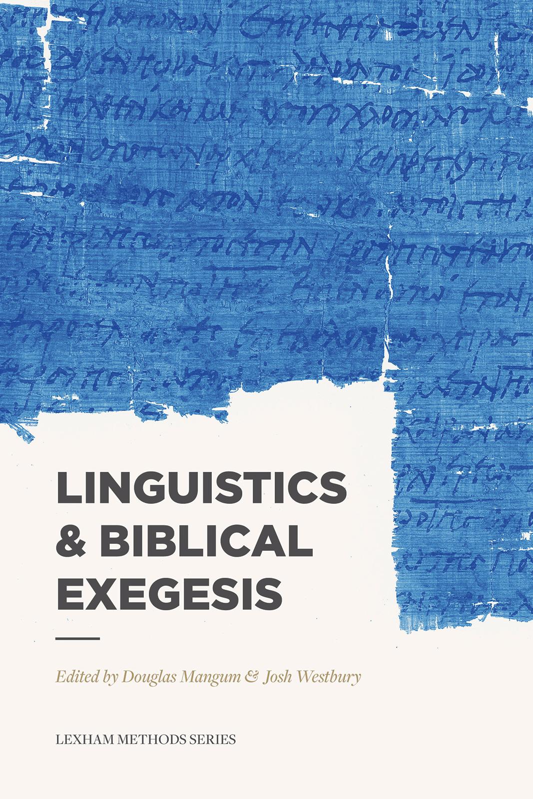 Linguistics and Biblical Exegesis