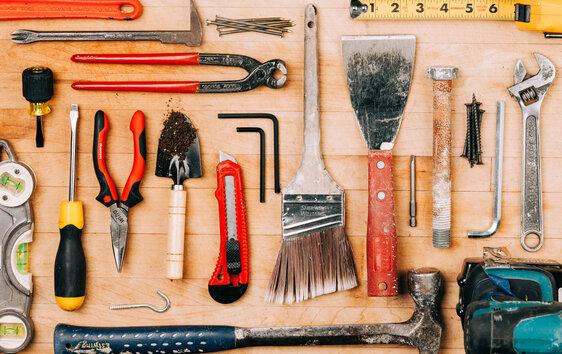 Tools Flatlay