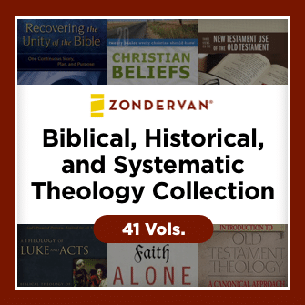 Zondervan Biblical, Historical, and Systematic Theology Collection (41 vols.)