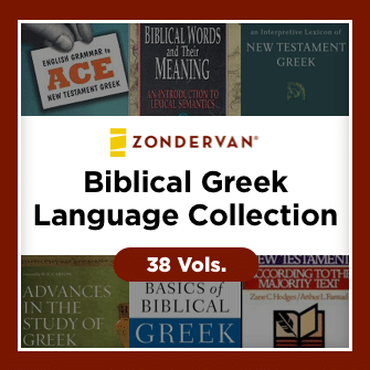 Zondervan Biblical Greek Language Collection (38 vols.)