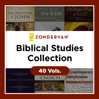 Zondervan Biblical Studies Collection (40 vols.)