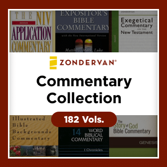 Zondervan Commentary Collection (182 vols.)