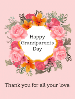 Happy Grandparents