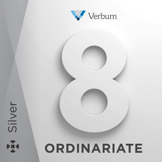 Verbum 8 Ordinariate Silver