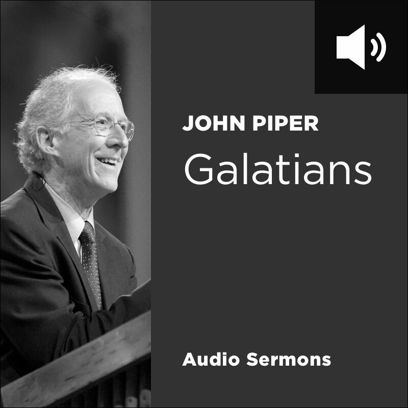 Galatians: Broken by His Cross, Healed by His Spirit (23 audio sermons)