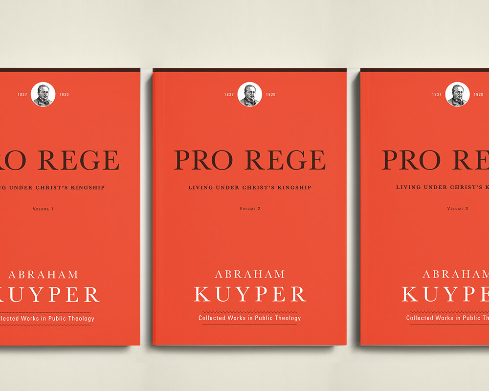 Pro Rege: Living Under Christ's Kingship (3 vols.)