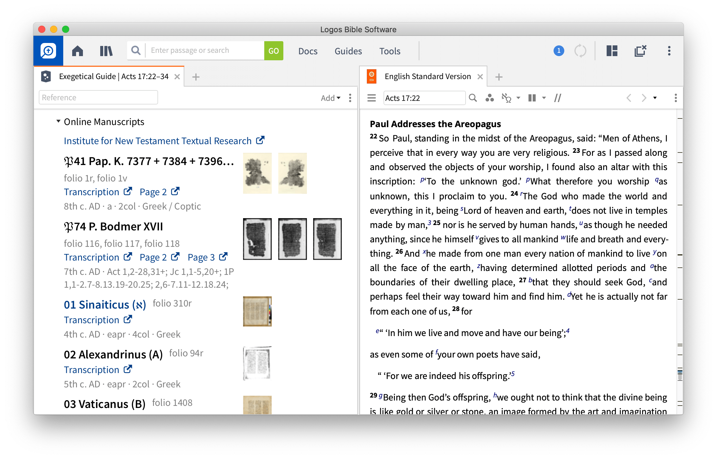 Online Manuscript Dataset