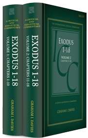 Exodus 1–18, 2 vols. (International Critical Commentary | ICC)