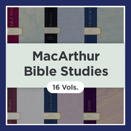 MacArthur Bible Studies (16 vols.)