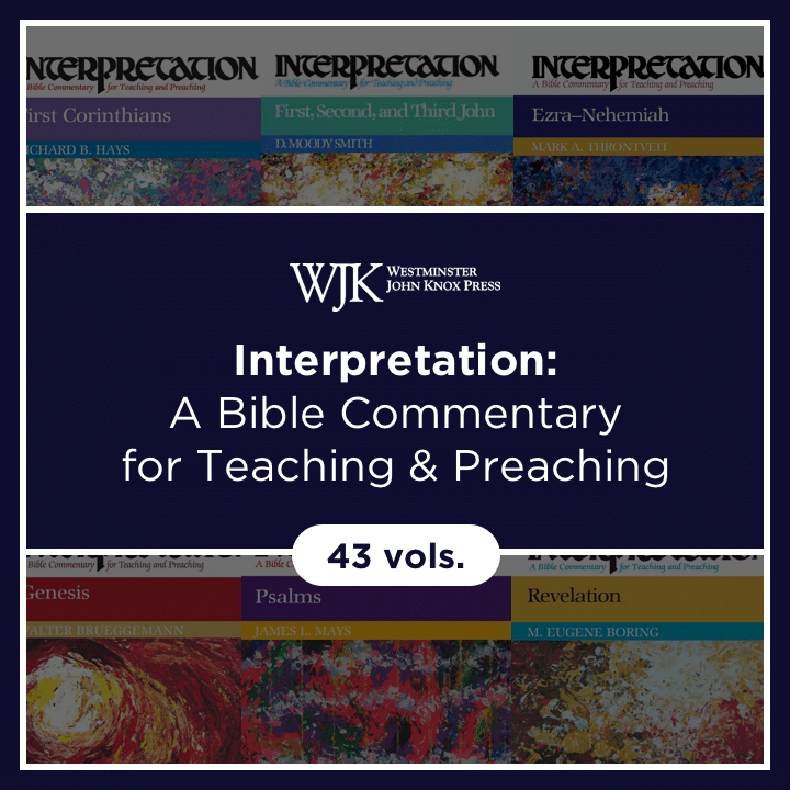 Interpretation: A Bible Commentary for Teaching and Preaching | INT (43 vols.)