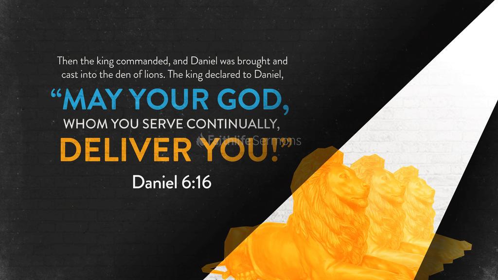 Daniel 6:16 large preview