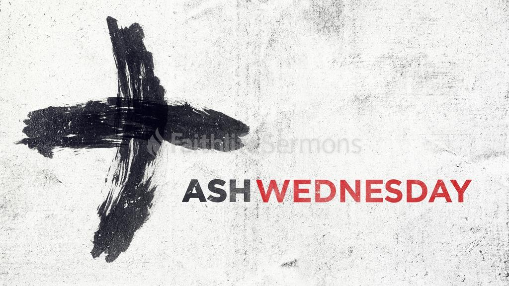 Ash Wednesday large preview