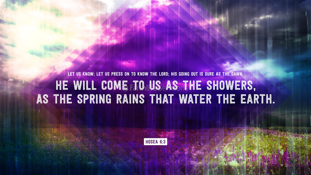 Hosea 6:3 large preview