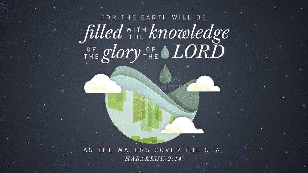 Habakkuk 2:14 large preview