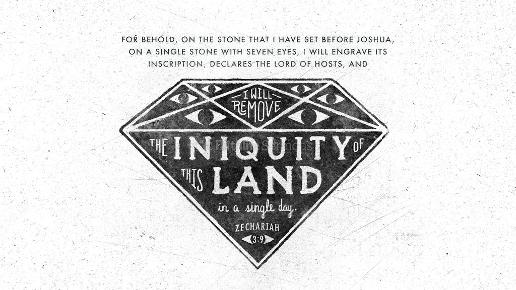 Zechariah 3:9 large preview
