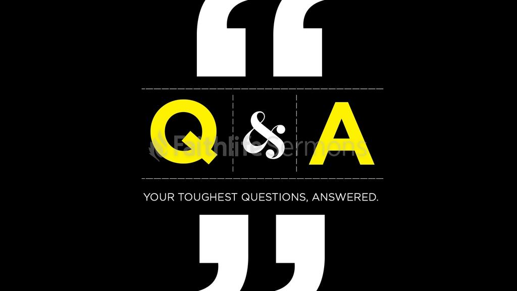 Questions and Answers large preview
