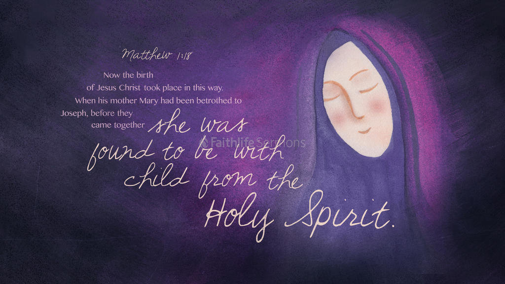 Matthew 1:18 large preview