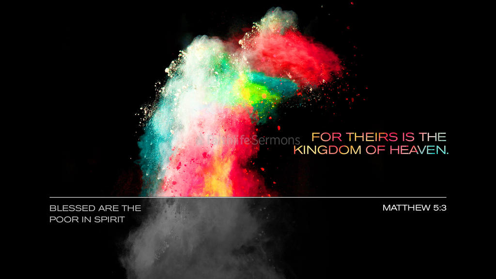 Matthew 5:3 large preview
