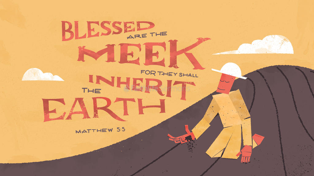 Matthew 5:5 large preview